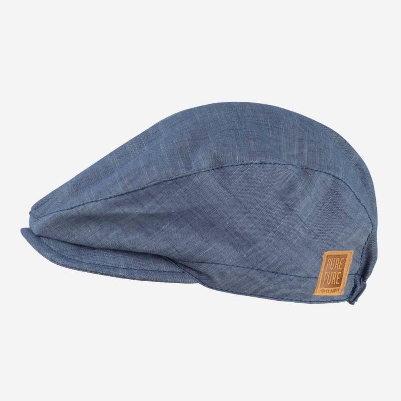 Schiebermütze jeans-blau