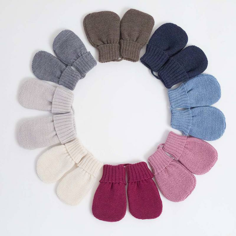 Baby Handschuhe Wolle