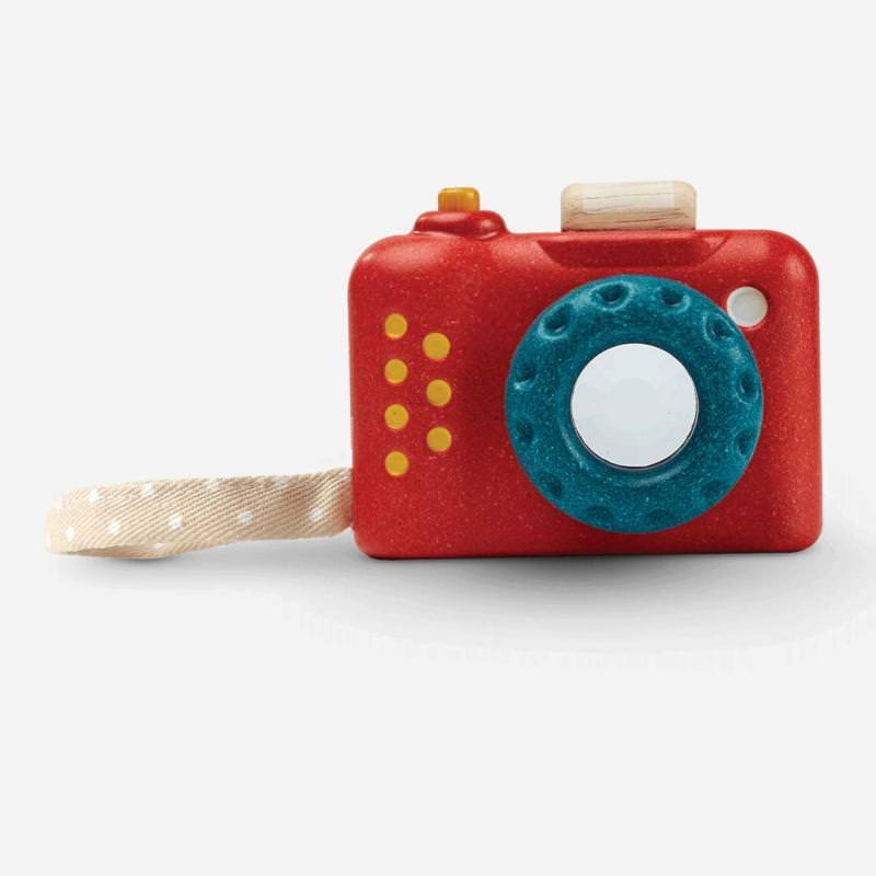 Fotokamera rot