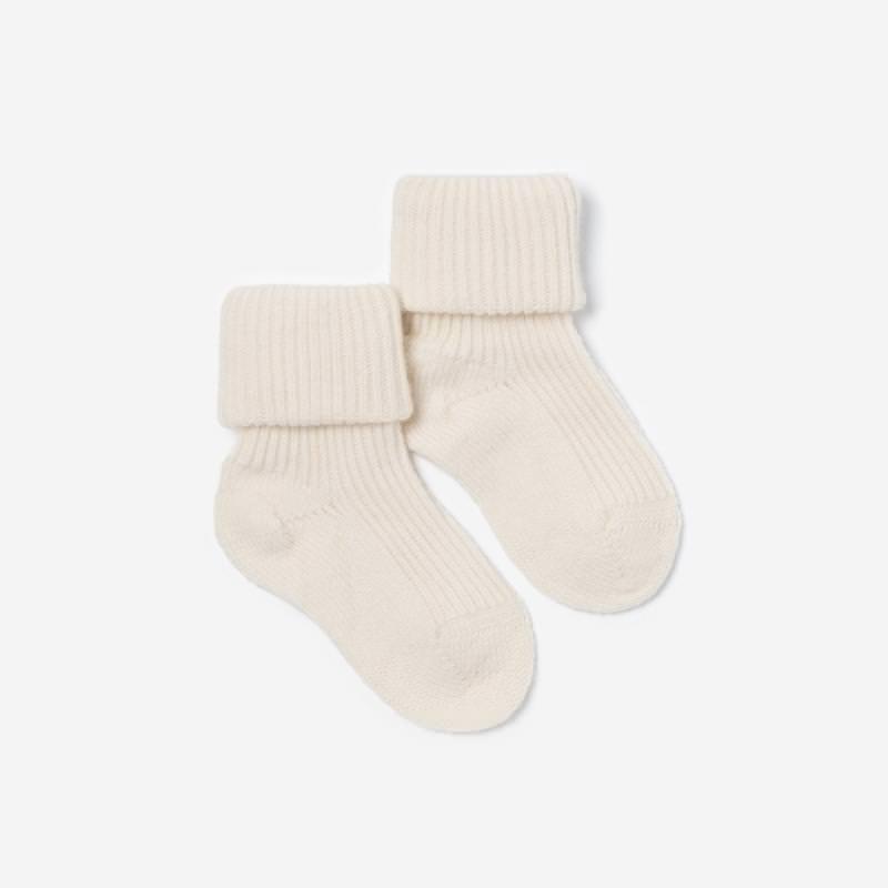 Baby Socken Alpaka natur