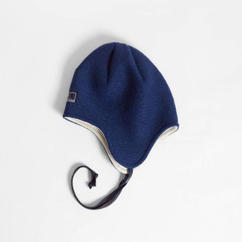 Mütze Jack Wollwalk marine-grau