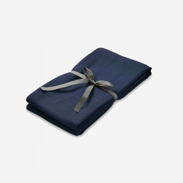 Swaddle Musselin Tuch groß navy