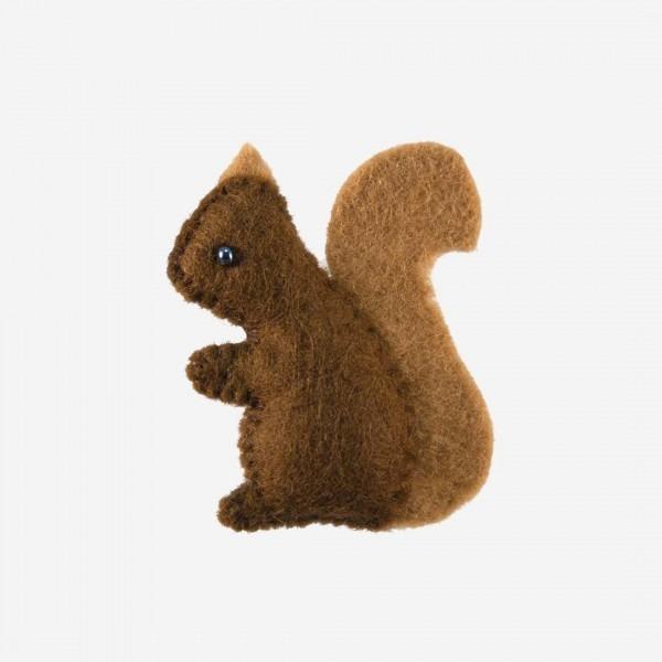 Kleine Filz Freunde Eichhörnchen