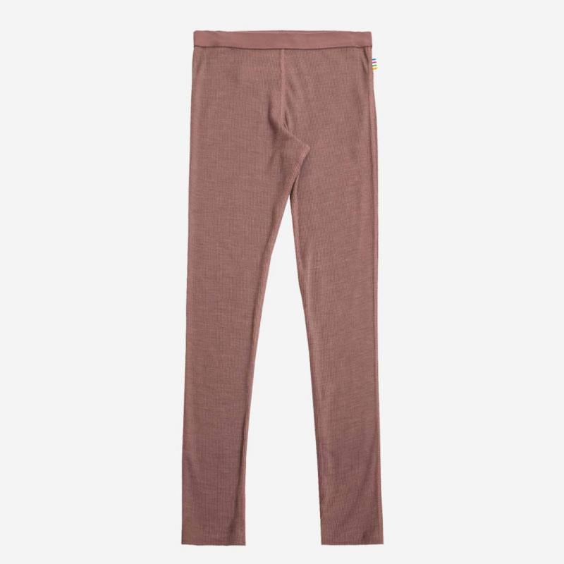 Leggings Wolle/Seide rosewood