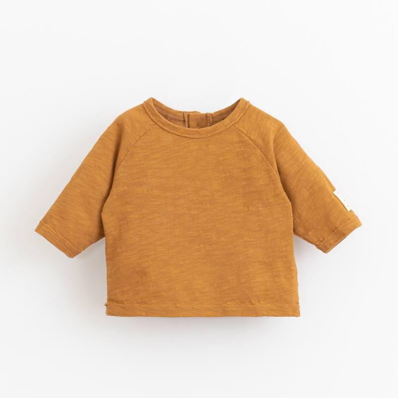 Shirt langarm hazel gelb