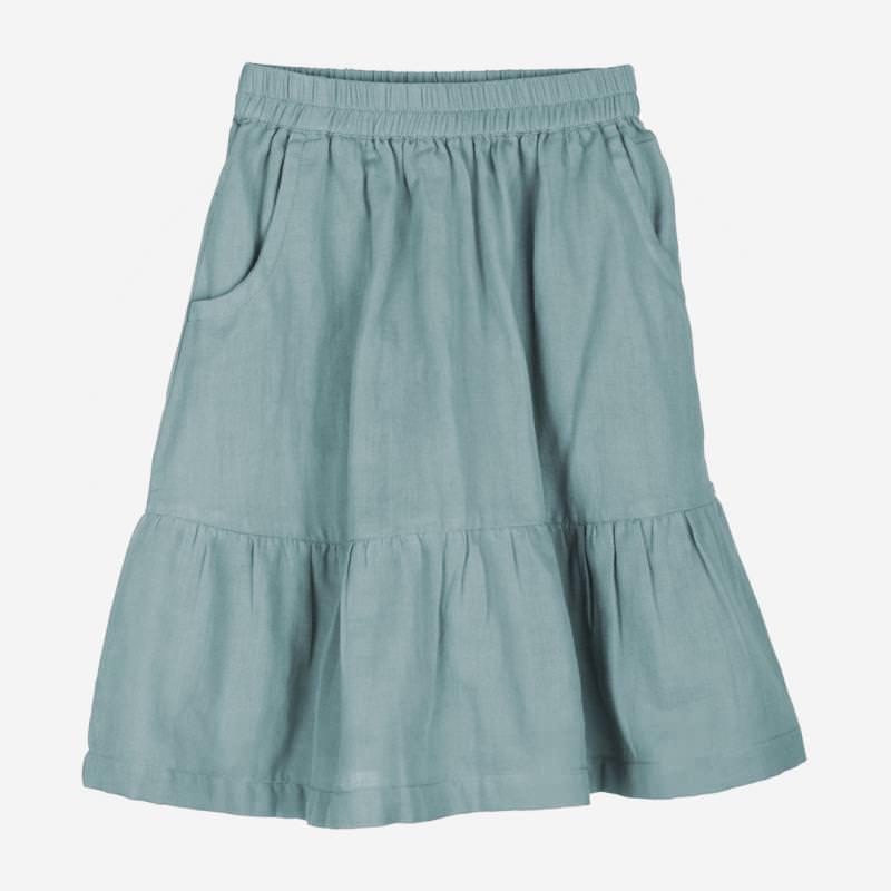 Gauze Skirt dusty blue
