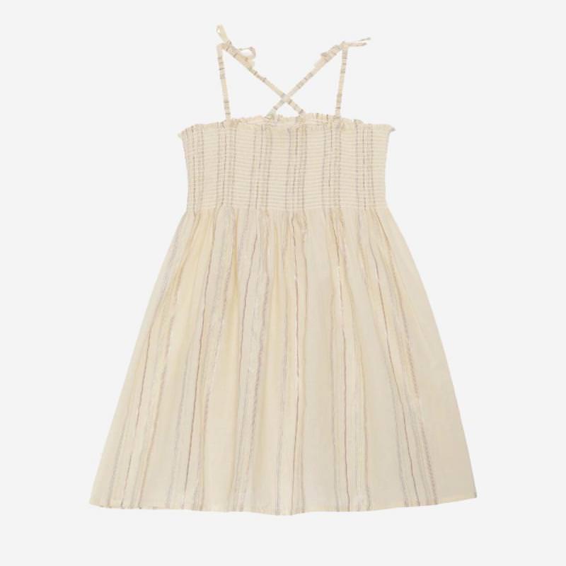 Kinder Kleid FIJI von Konges Sløjd aus Bio-Baumwolle in champange