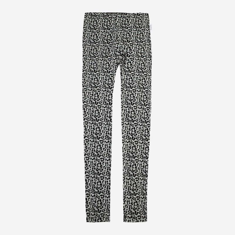 Lange Unterhose von Joha aus Wolle im Leoparden-Muster