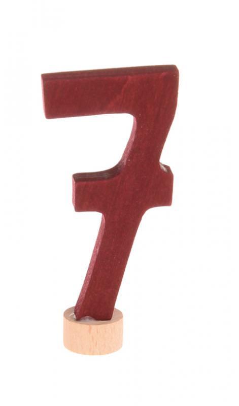 Zahlenstecker 7