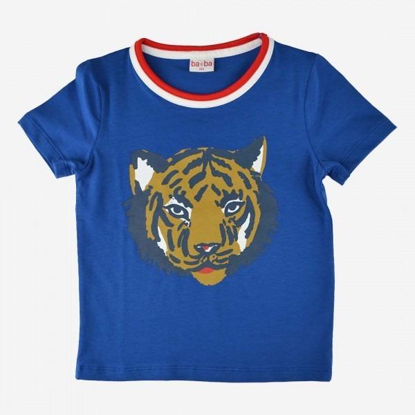T-Shirt Tiger blau