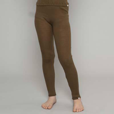 Leggings aus Wolle Arona moss