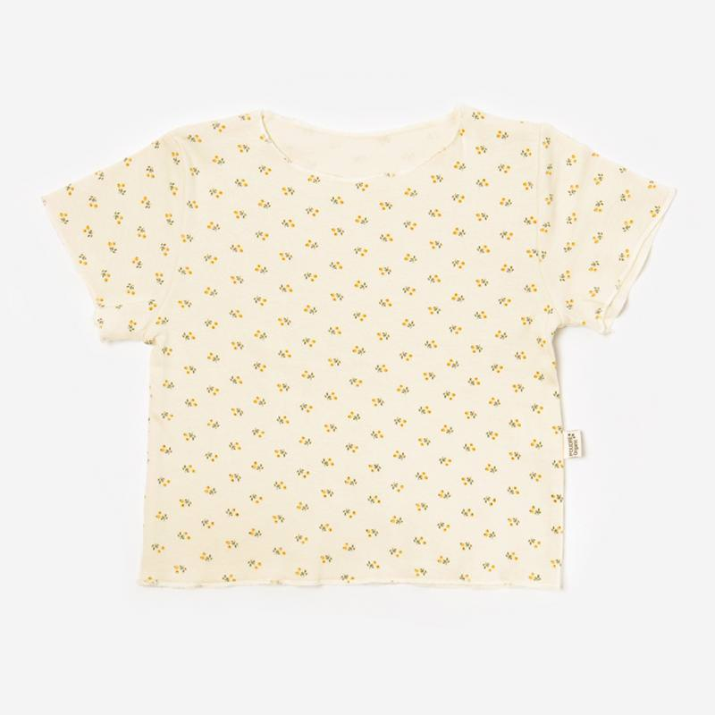 T-Shirt BOULEAU honey flowers