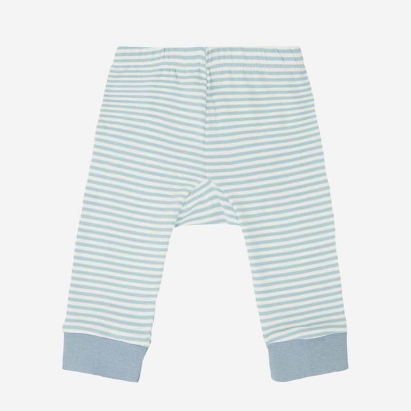 Baby Ringel Leggings blue