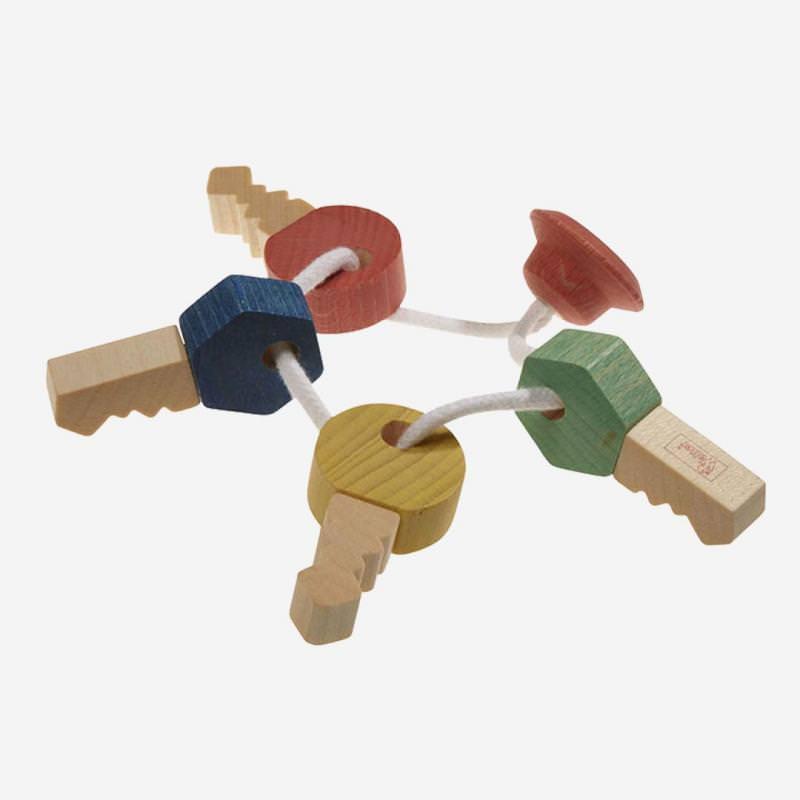 Schlüsselbund Holz