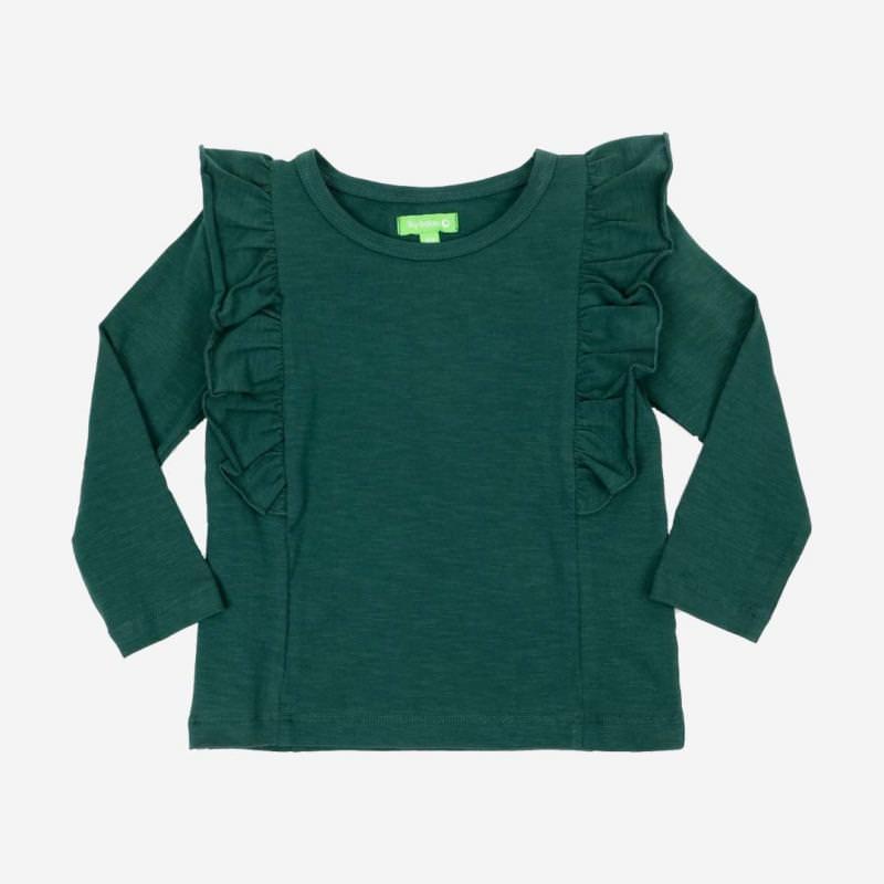 Hemd Charlotte dark green