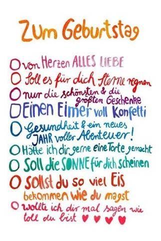 Postkarte Zum Geburtstag Wunsche Lila Lammchen Onlineshop