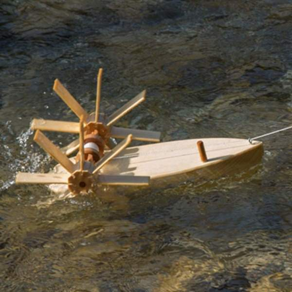 Schiffsbausatz Forelle