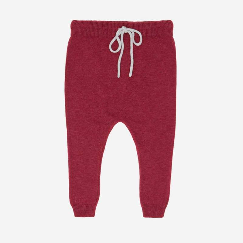 Hipsterpant Baumwolle Wolle bike red