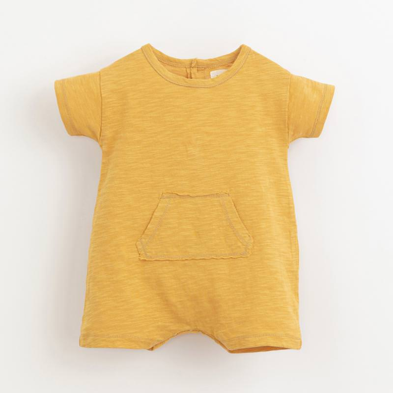 Kurzoverall mit Tasche sunflower gelb