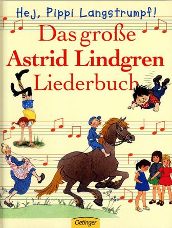 Astrid Lindgren Liederbuch