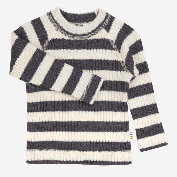 Pullover Streifen Wolle