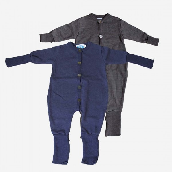 Overall Schlafanzug Wolle/Seide