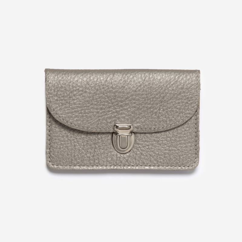 Portemonnaie Borsa silber klein