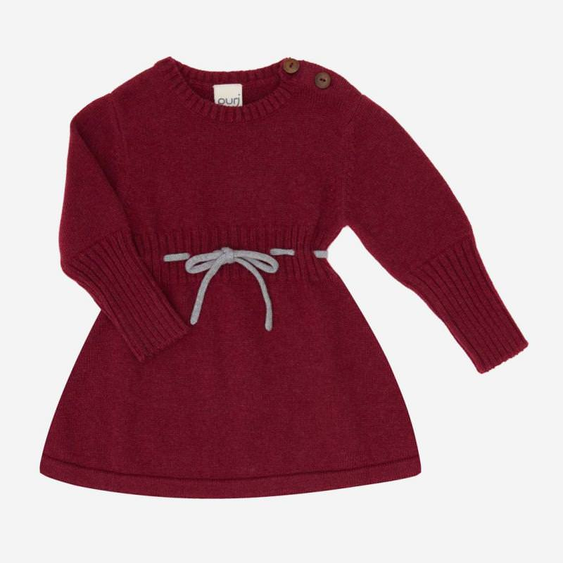 Kleid Kordel Baumwolle Wolle