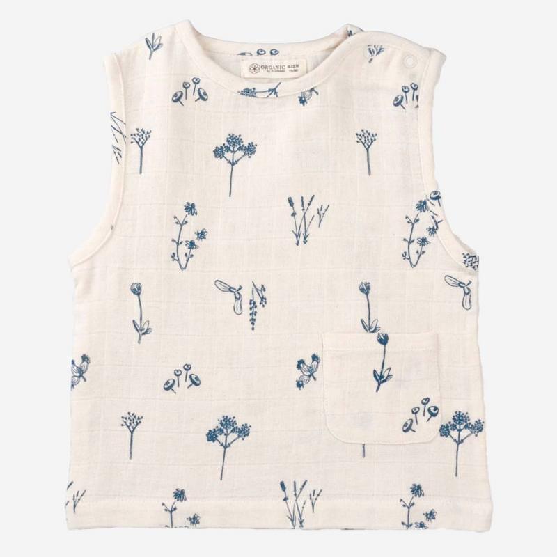 Shirt ärmellos Pflanzen Genuss