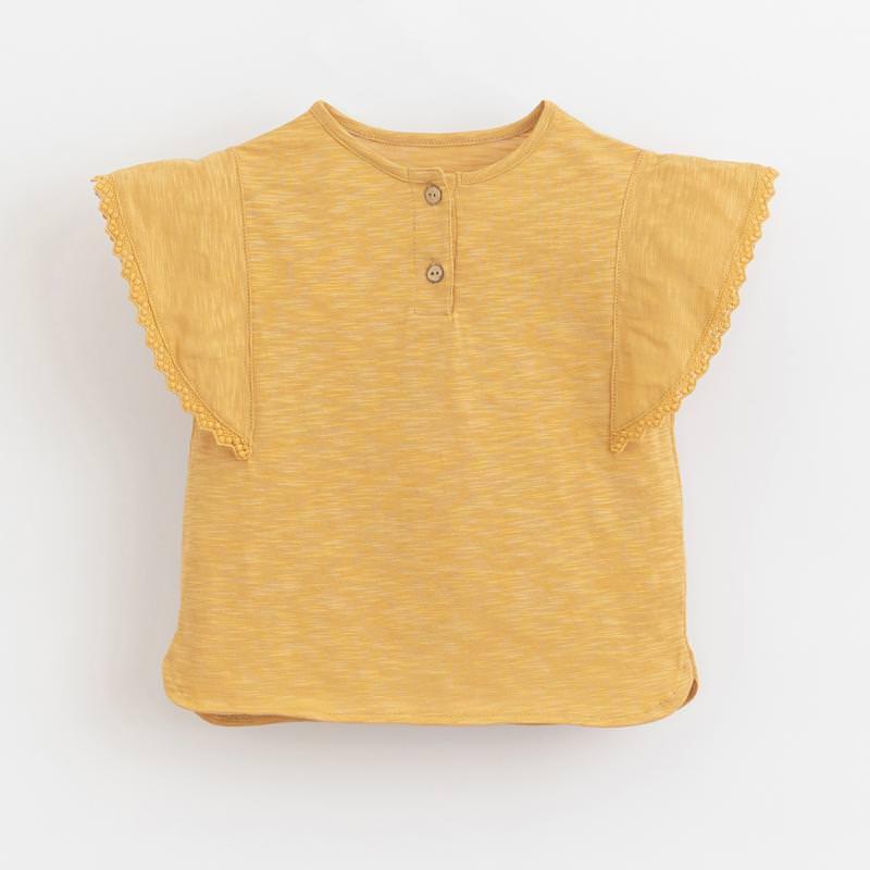 T-Shirt mit Flügelärmeln sunflower gelb