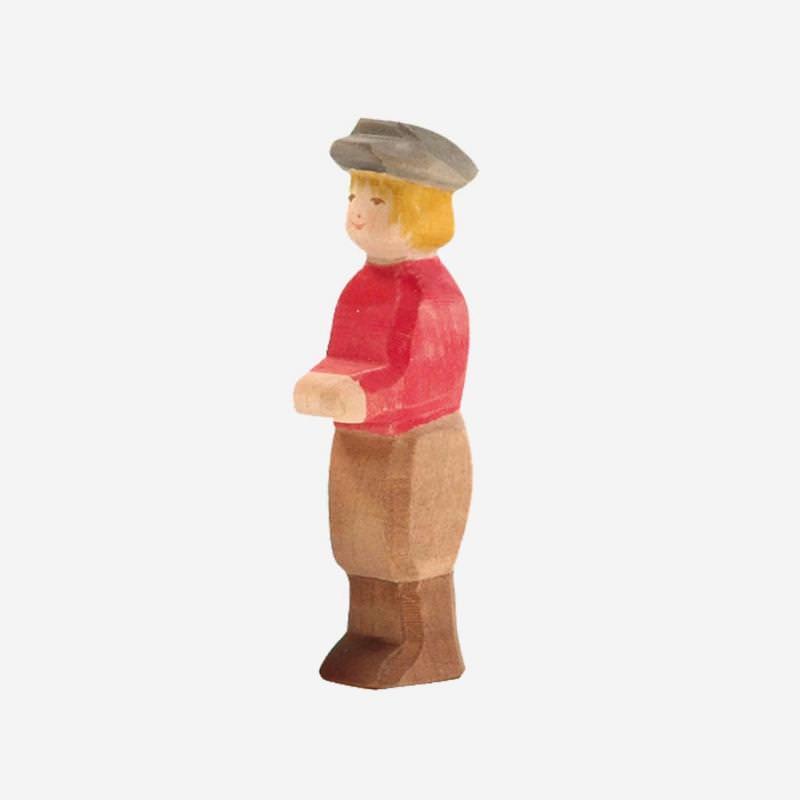 Holzfigur Sohn von Ostheimer