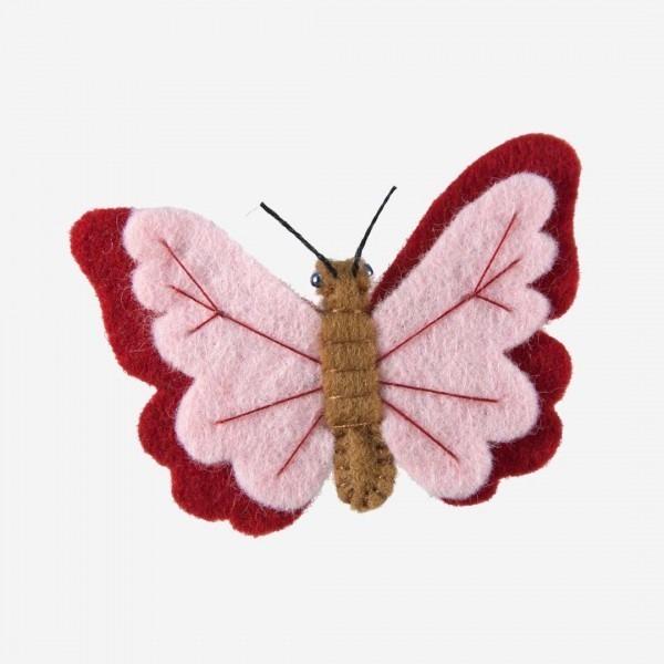 Kleine Filz Freunde Schmetterling