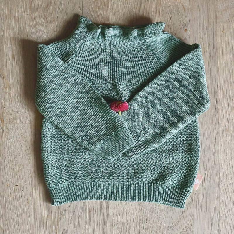 Pullischlüttli Baumwolle green