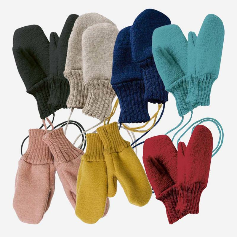 Walkhandschuhe Wolle