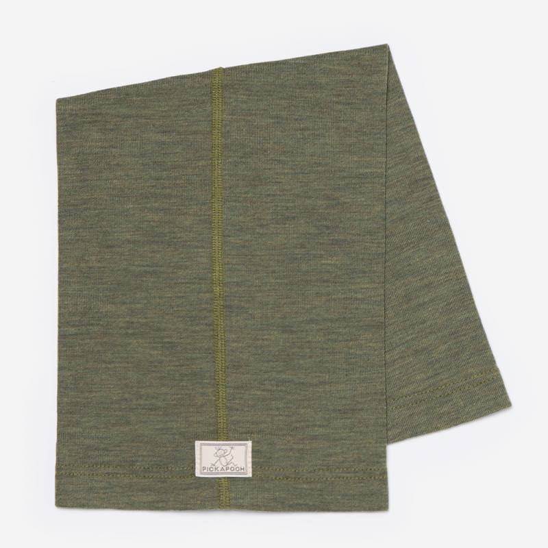 Schlauchschal Strunzl Wolle/Seide olive
