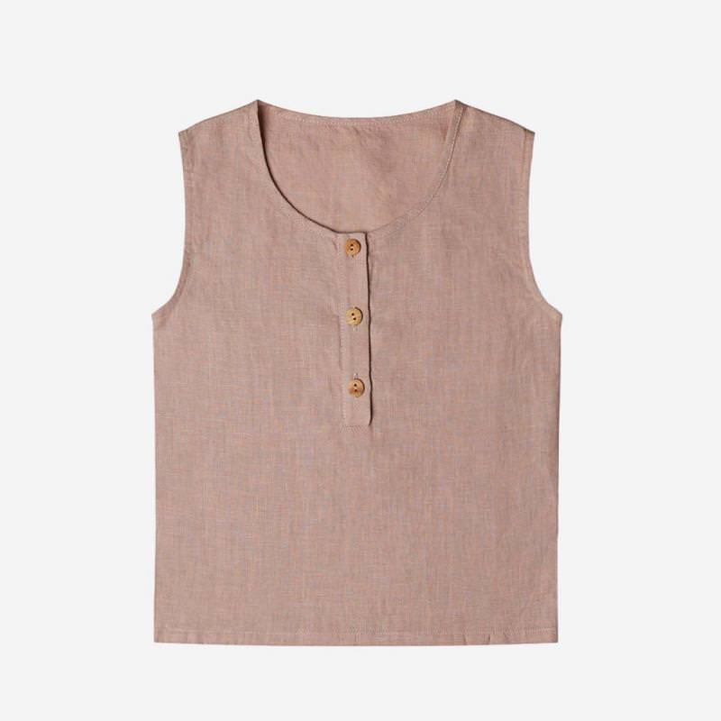 Fawn Top dusty rose