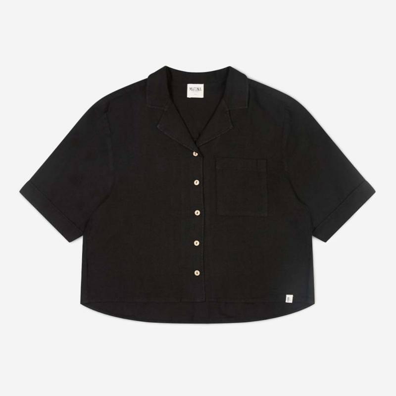 Damen Shirt Ari Leinen
