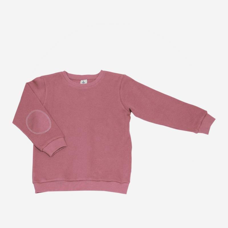 Piqué-Sweater altrosa