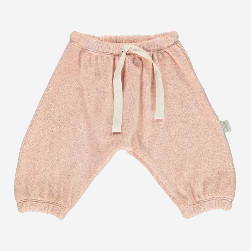 Frottee Hose CANNELLE evening sand