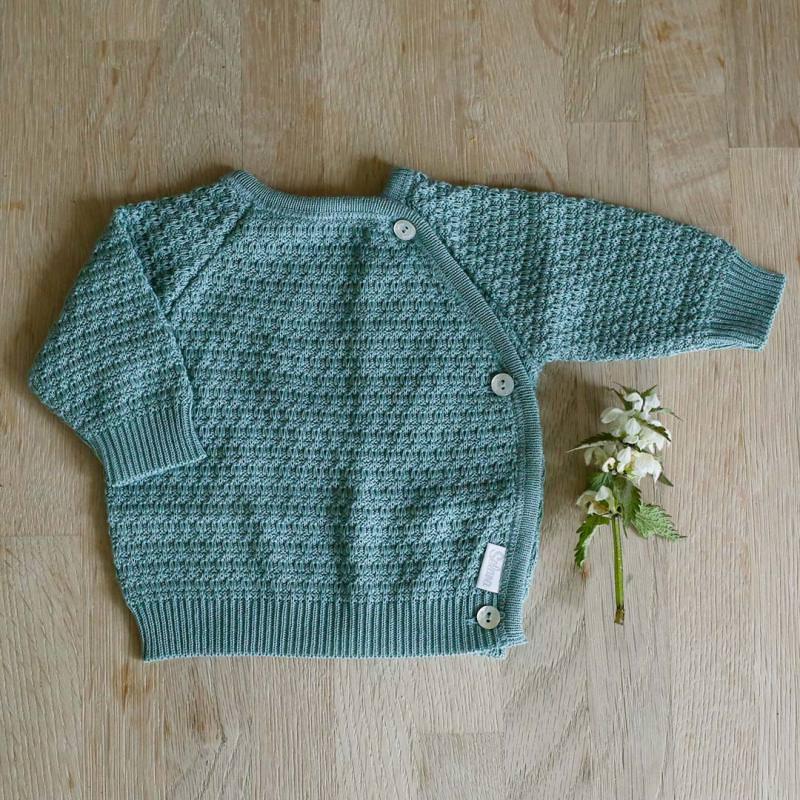 Schlüttli Baumwolle Musterstrick green