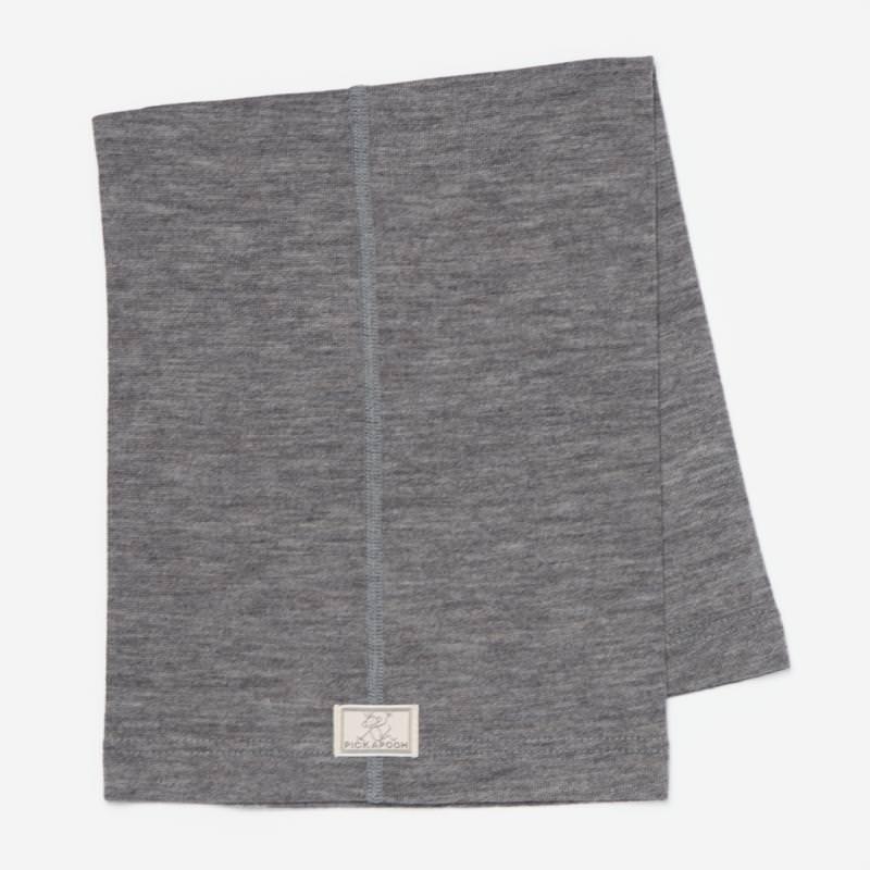Schlauchschal Strunzl Wolle/Seide grau