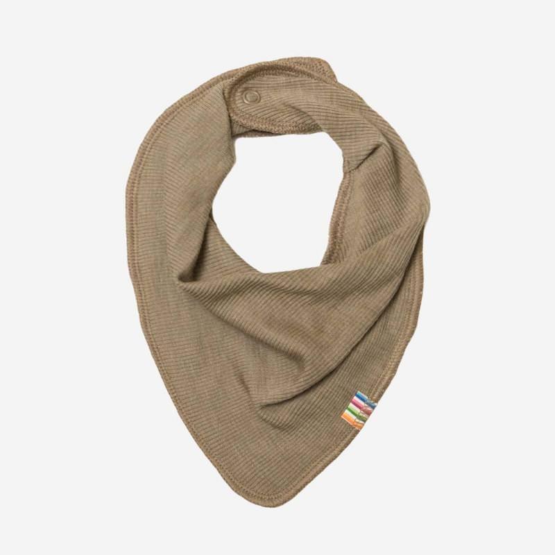 Baby Halstuch von Joha aus Wolle/Seide in beige