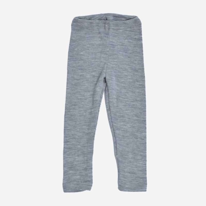 Leggings grau Wolle/Seide