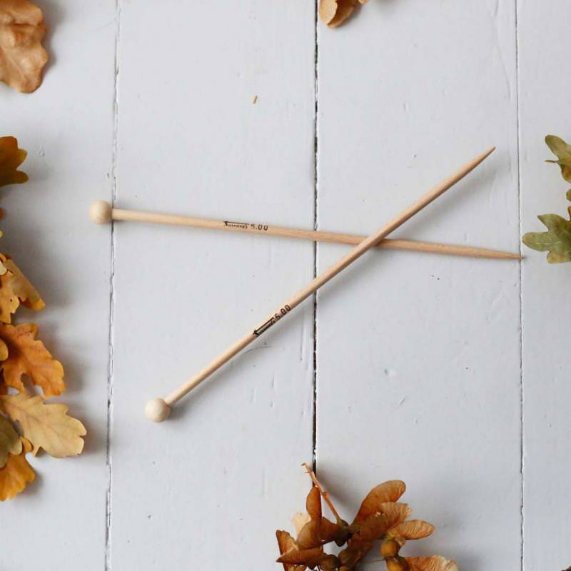Kinder Stricknadeln aus Holz