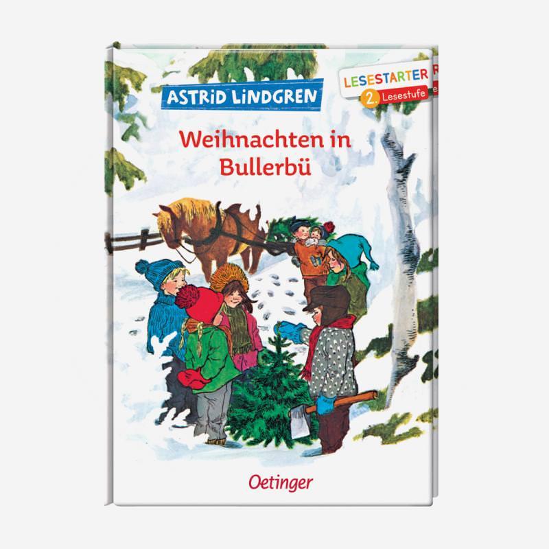 buch oetinger lesestarter leseanfaenger astrid lindgren ilon wikland weihnachten in bullerbue 978-3-7891-1395-6