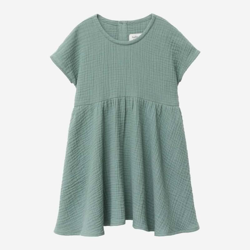 Kleid Lotte Baumwolle seegras