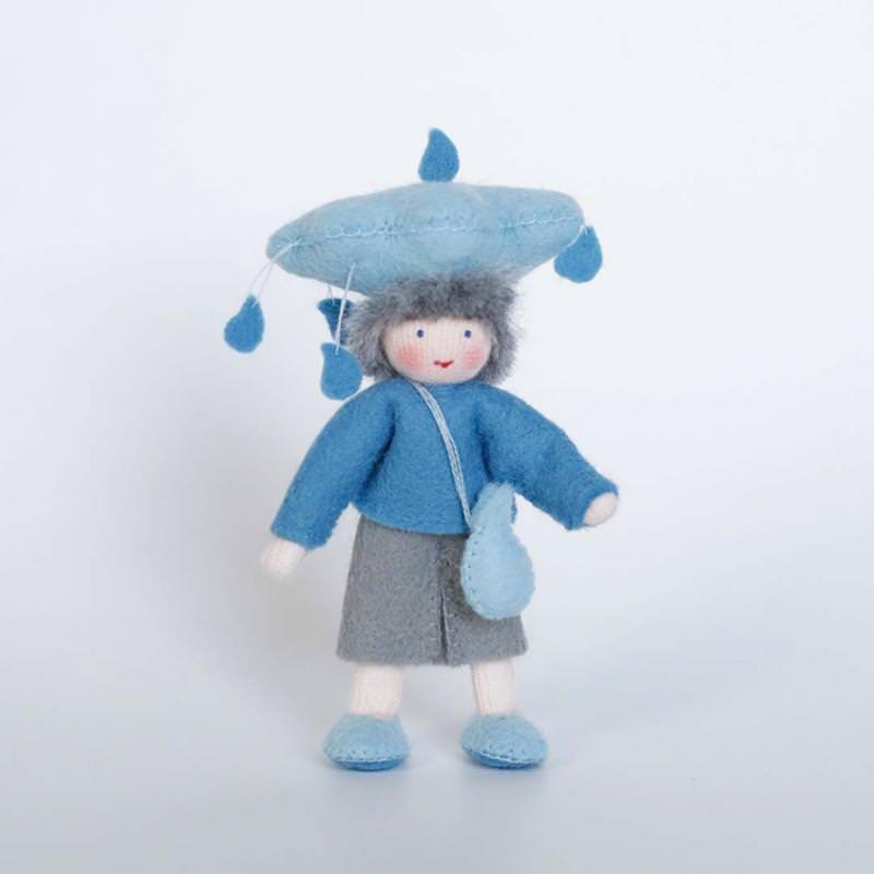 Filzpüppchen Regen