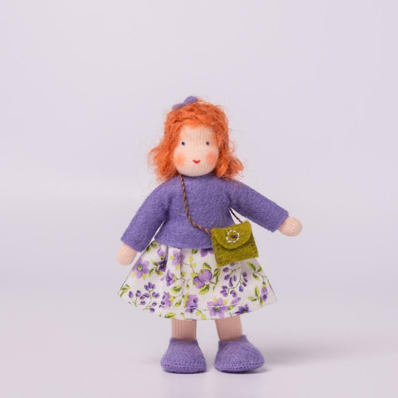 Puppenstuben Mädchen rotes Haar