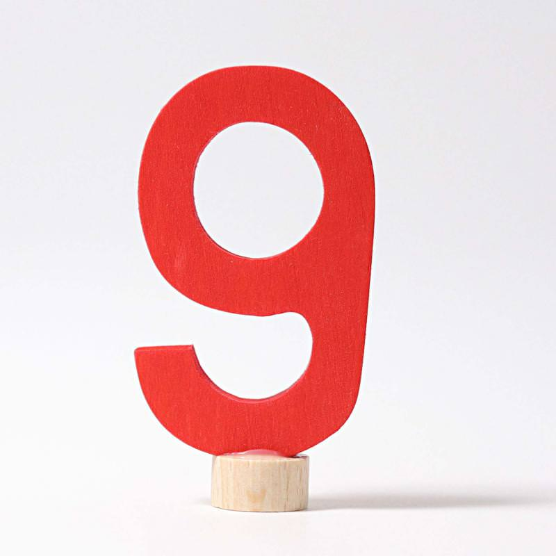 Zahlenstecker 9