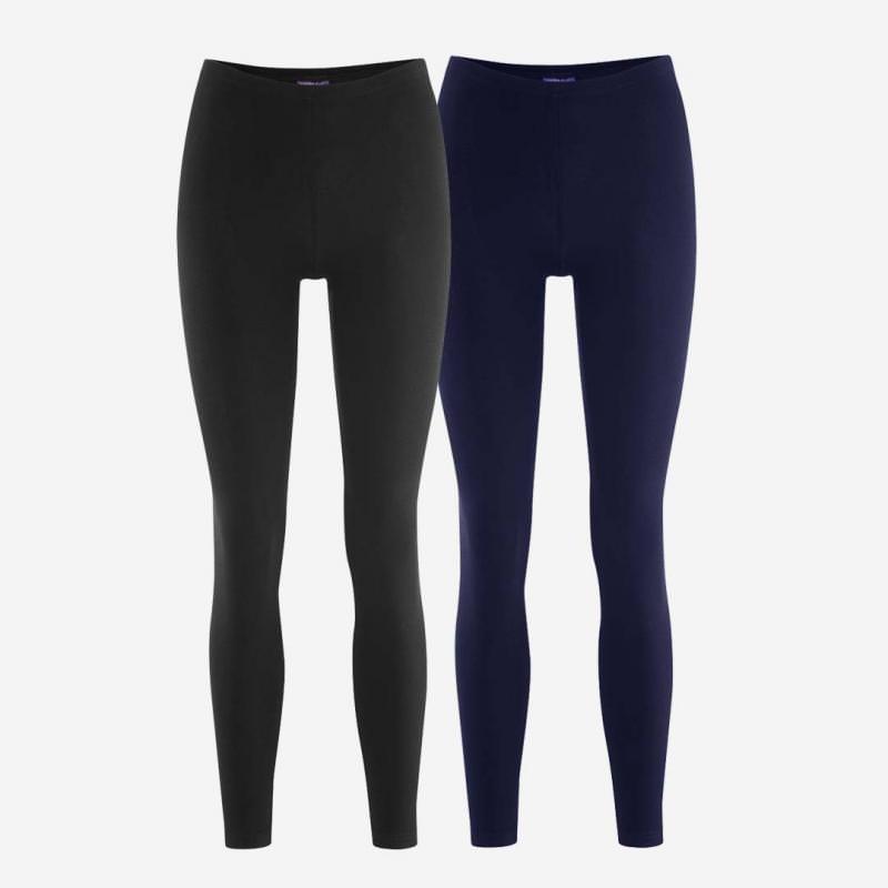 Damen Leggings Baumwolle